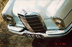 1968 Mercedes-Benz 280S - detail