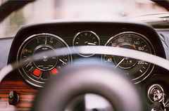 1971 Mercedes-Benz 250 - Instrument panel