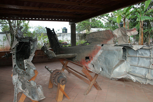 Remains Of A Chopper