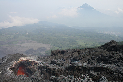 Our First View Of Lava