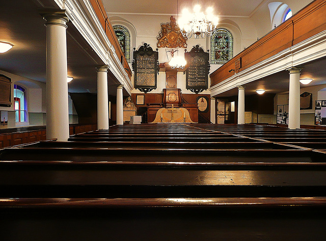 st.george's german lutheran chapel, alie st., london