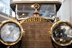 1910 Mercedes Typ 22/40 PS Tourenwagen, detail