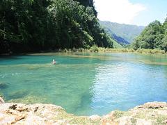 Swimming At Semuc Champey