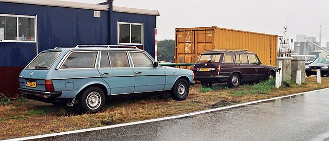 Stationcar delight: 1981 Mercedes-Benz 240 TD & 1975 Simca 1501 Tourist Special
