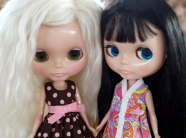 Blythe meet ~ Tracy's Danica & Janice's Only