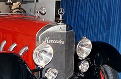 1914 Mercedes 28/95 PS, detail