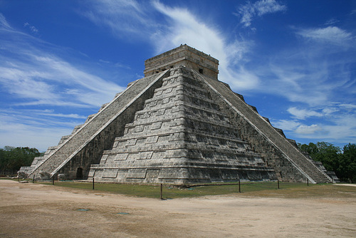 A Magnificent Mayan Pyramid, Pyramid Of Kukulcán