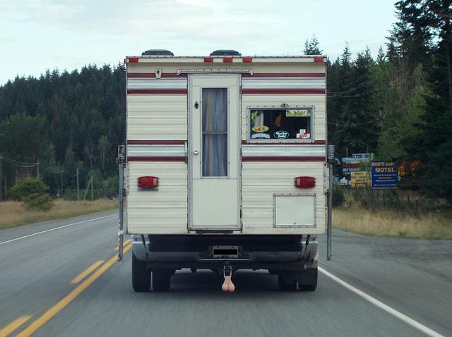 Redneck truck camper?