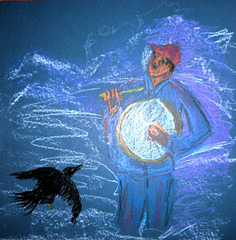 The Drummer and the Raven