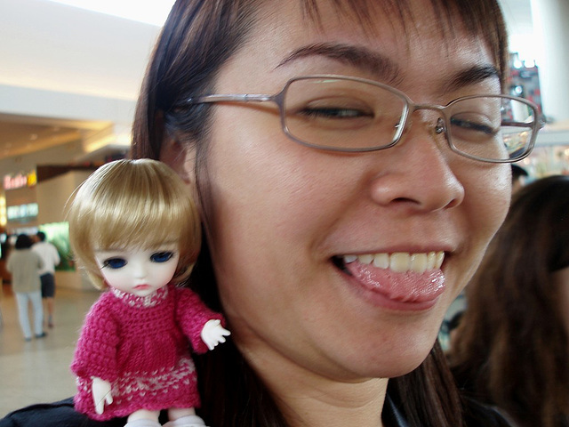 Blythe meet ~ Chun with Lea