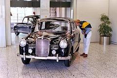 "1955 Mercedes-Benz 180 ""Ponton"""