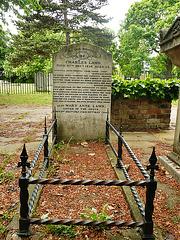 charles lamb, all saints churchyard, edmonton, london