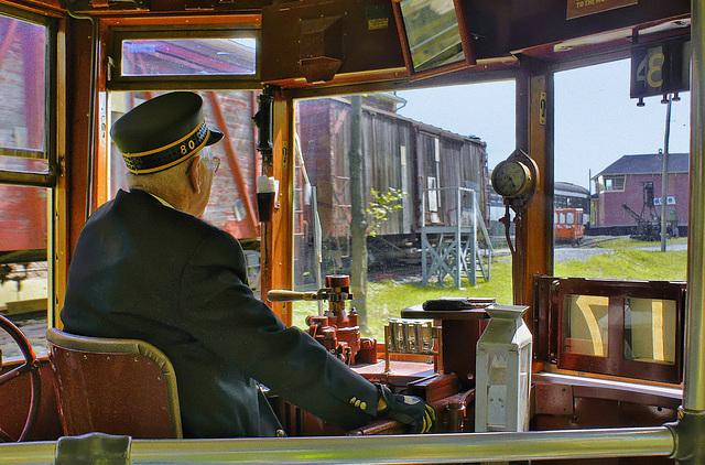 The Streetcar Driver – Canadian Railway Museum, Delson, Québec