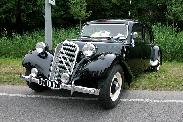National Oldtimer Day in the Netherlands: 1953 Citroën Traction Avant 11B