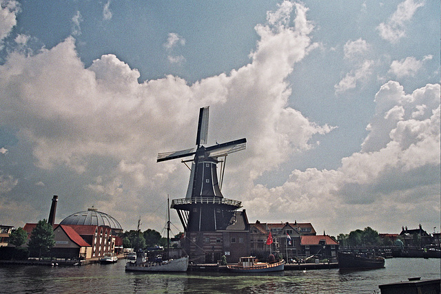 View of Haarlem, the Netherlands
