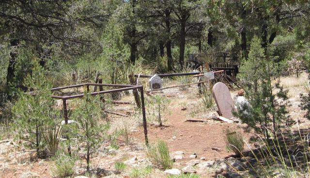 Mogollon, NM cemetery 148a