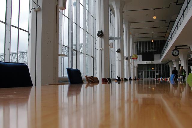 Day job: visiting 100% Design in the Van Nelle Ontwerpfabriek in Rotterdam