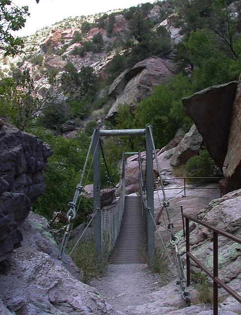 Catwalk, Gila National Monument, NM (3349)