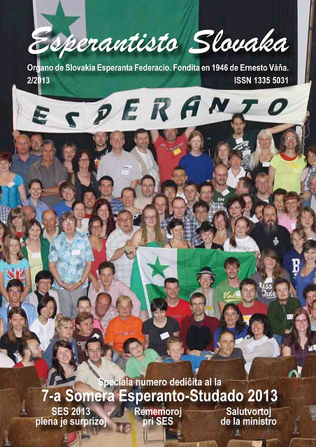 Esperantisto Slovaka 2/2013