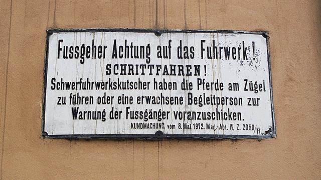 Vienna sign