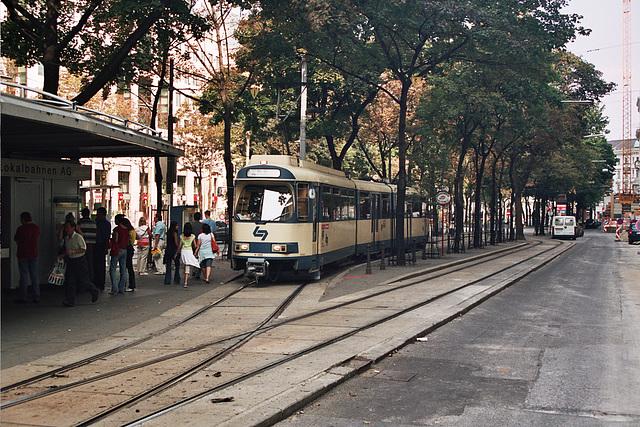 Vienna Tram - Badner Bahn in Wien
