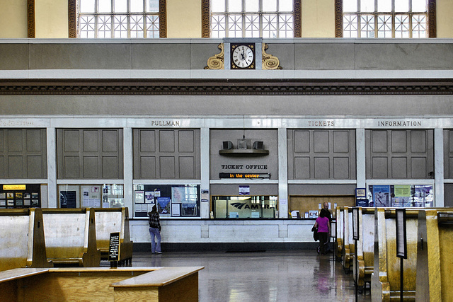 The Waiting Room – Union Station, Denver, Colorado