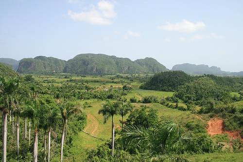 Approach To Viñales