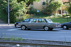 Car spotting in Germany: Mercedes-Benz 300 SEL 4.5