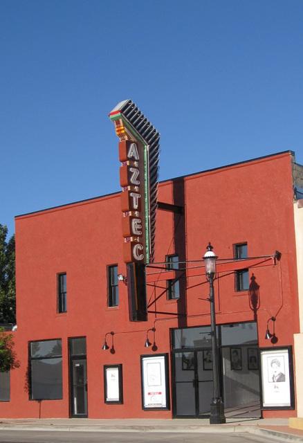 Aztec, NM theatre 199a