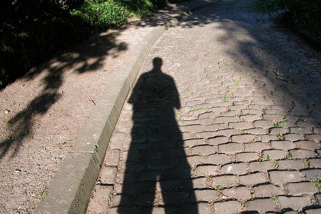 Last pics taken in Germany: The photographer in Mülheim an der Ruhr