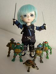 Mutant ninja turtle trainer