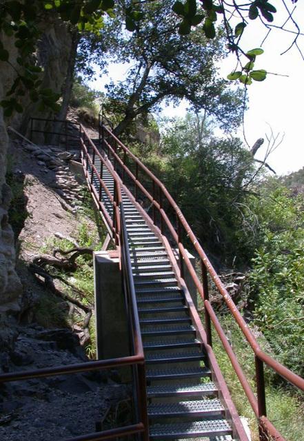 Catwalk, Gila National Monument, NM 3348a
