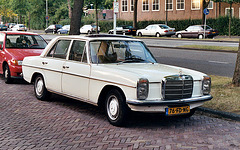 Some old stuff: 1973 Mercedes-Benz 250 Automatic