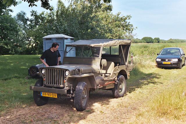 Some old stuff: 1961 Hotchkiss M201 Jeep