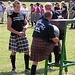 A day in Germany: coming across a pipes-and-drums contest and highland games in Xanten