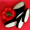 Capsicum and Aubergine