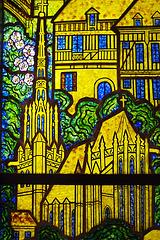 Les monuments de Conches par François Decorchémont - Musée du verre de Conches
