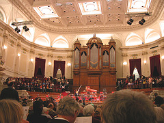 An evening at the Concertgebouw, Amsterdam