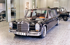 The Pope's 1965 Mercedes-Benz 600 Landaulet
