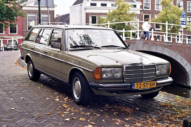 Merc spots: 1984 Mercedes-Benz 240TD