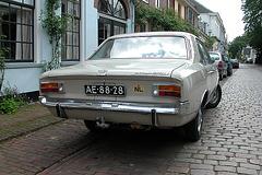 A visit to Wijk bij Duurstede - 1969 Opel Rekord 1700 automatic