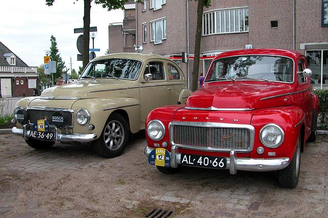 1964 Volvo PV544 & 1962 Volvo PV544C