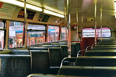 Interior of a Routemaster
