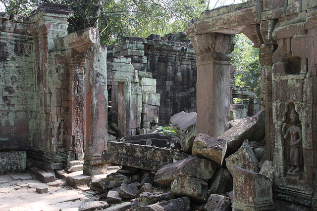 The ruins of Ta Prohm