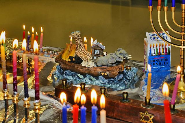 Happy Hanukkah from Greenbelt, Maryland – חג האורים שמח
