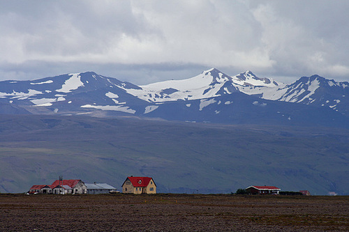 Icelandic farm with a view to die for