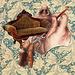 """victorian surgeon removing a rare """"decorative loveseat"""" tumor"""