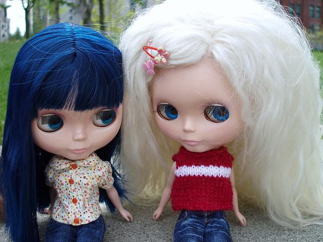 Blythe meet ~ Tracy's Toby & Danica