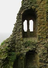 Scarborough Castle.