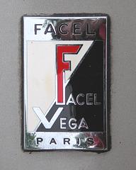 Facel Vega Facellia F2B badge